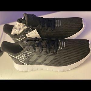 Black Unisex Adidas Running Shoes